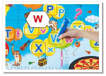 英文字母學習地墊 3d 互動發聲地墊系列3D 互動發聲地墊系列