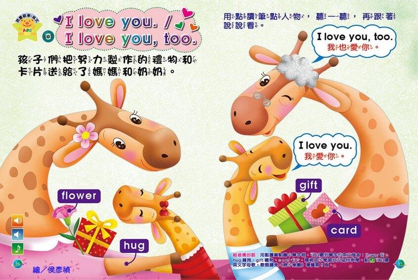 我喜歡學‧英文-I love you. / I love you, too. 全國兒童樂園 小飛蛙月刊 NO.317 期出刊囉!