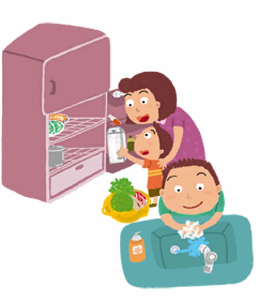 讓孩子遠離食物中毒