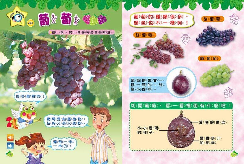 我認識‧好吃的食物-葡萄