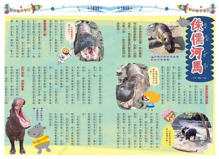 04-05 動物觀察筆記 侏儒河馬