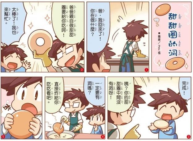 comic1598 - 全國兒童週刊第1598期 漫畫—甜甜圈的洞